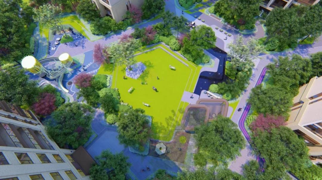 鸿樾府   寸土寸金的主城区难得一见的公园级法式墅区