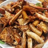 美味家常菜年糕梭子蟹