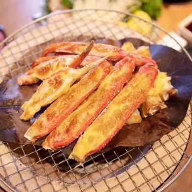 火遍日本北海道の蟹料理空降海宁!