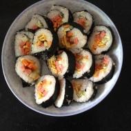 好吃简单的寿司卷