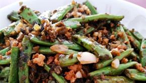今日午餐!超级下饭的干煸四季豆